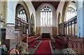 SX7039 : Interior of All Saints church, Malborough, Devon by Derek Voller