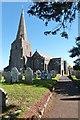 SX7039 : All Saints church, Malborough, Devon by Derek Voller
