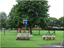 NS3421 : Swingpark at Craigie Way by Thomas Nugent