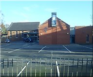 J3471 : The car park of Newtownbreda Presbyterian Church by Eric Jones