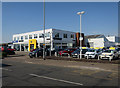 TG2209 : Car dealership, Heigham Road by Hugh Venables