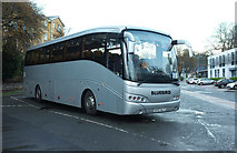 SX9164 : Welsh coach, Torquay coach station by Derek Harper