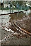 SX9164 : Wet day, Upton Park by Derek Harper
