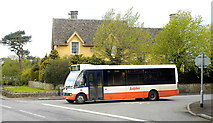 ST8080 : Rural Bus Service, Acton Turville, Gloucestershire 2013 by Ray Bird