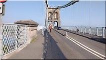 SH5571 : Menai Suspension Bridge by Stewart Marsh
