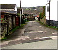 ST1494 : Side road on the west side of Davies Street, Ystrad Mynach by Jaggery