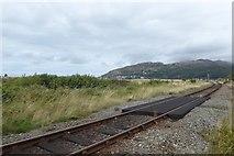 SH6214 : Railway near Morfa Mawddach by DS Pugh