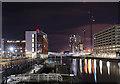 SJ3390 : Pier Head, Liverpool at night - December 2018 (7) : Week 49