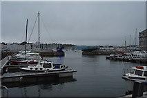 SX4653 : Royal William Yard - dock basin by N Chadwick