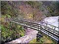 SD6974 : River Twiss, Pecca Bridge by David Dixon