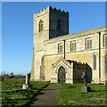 SE5424 : Church of St Edmund, Kellington by Alan Murray-Rust