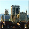 SE6052 : December late afternoon sun on the Minster by Alan Murray-Rust