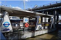 TQ3080 : Embankment Pier by N Chadwick