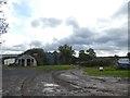 SO5186 : Farm track and Nissen hut, Aston Munslow by David Smith