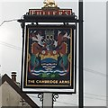 ST5775 : The sign of The Cambridge Arms by David Lally