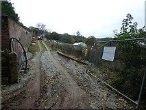 SX1061 : Construction work at Restormel Farm by David Smith