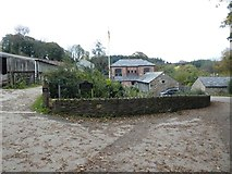 SX1061 : Old barns and renovated building, Restormel Farm by David Smith