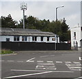 SS6595 : Telecoms mast behind Neath Road, Swansea by Jaggery