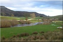 SD9789 : The River Ure in Wensleydale by Russel Wills