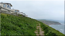 TA0983 : Cleveland Way next to the Blue Dolphin Holiday Park by Mat Fascione
