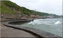 TA0487 : Sea defences at South Bay, Scarborough by Mat Fascione