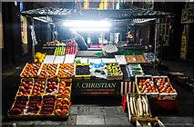 SJ3490 : Setting up the stall, Liverpool by Matt Harrop