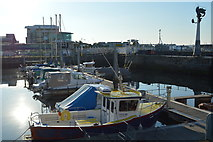 SX4854 : Sutton Harbour by N Chadwick