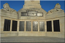 SX4753 : Plymouth Naval Memorial - east panels by N Chadwick