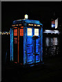SJ8097 : Lightwaves 2018, Tardis at MediaCityUK by David Dixon