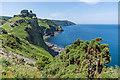 SS7049 : Towards Castle Rock by Ian Capper