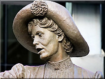SJ8397 : Emmeline Pankhurst Statue (close up) by David Dixon