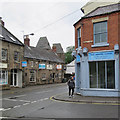 SK3447 : Belper: the corner of Field Lane by John Sutton