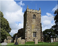 SD9350 : Tower of All Saints church, Broughton by Bill Harrison