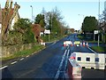 SE5726 : A19 closed at Chapel Haddlesey by Alan Murray-Rust