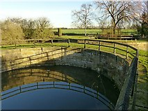 SE5726 : Drainage tunnel, Selby Canal, West Haddlesey by Alan Murray-Rust