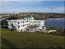 SX6443 : Burgh Island Hotel by Rob Farrow