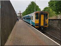 ST1974 : Cardiff Bay Railway Station by Colin Cheesman
