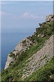 SS7049 : Cliffs by Ian Capper