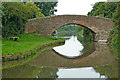 SK4027 : Fine George's Bridge near Weston-on-Trent, Derbyshire by Roger  Kidd