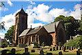 SJ5562 : St Helen's Church, Tarporley by Jeff Buck