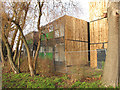 TQ1981 : Homes from shipping containers, Westfield Lodge, North Acton by David Hawgood