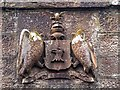 NH5963 : Munro Coat of Arms on the Foulis Road Railway Bridge by valenta