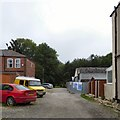 SJ9594 : The end of Haughton Street by Gerald England