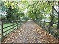 SX0151 : Foot and cycle path beside Pentewan Road by David Smith