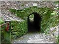 SX0055 : Wheal Martyn - flat rod tunnel by Chris Allen