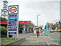 NY4154 : Harraby Green Service Station (1) by Rose and Trev Clough