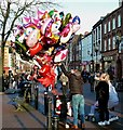 NY4055 : Balloon Seller at Carlisle by Mary and Angus Hogg