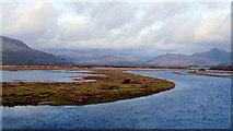 SH5838 : Afon Glaslyn and Traeth Mawr by John Lucas