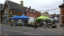 SK8608 : Oakham, Market Place by Colin Park