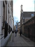 TL4458 : A round the colleges route to Downing Street (53) by Basher Eyre